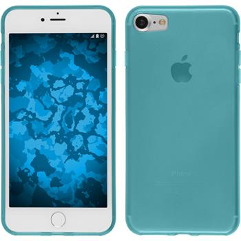 Silicone Case for Apple iPhone 7 transparent turquoise