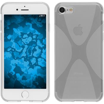 Silicone Case for Apple iPhone 7 X-Style transparent