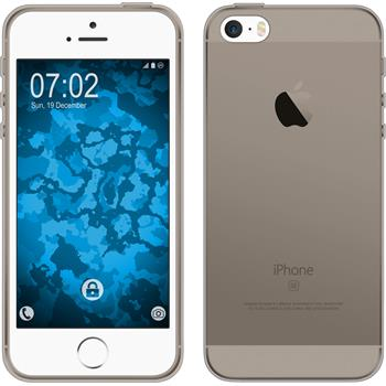 Silicone Case for Apple iPhone SE Slimcase gray