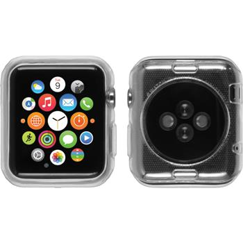 Silicone Case for Apple Watch 38mm Slimcase transparent