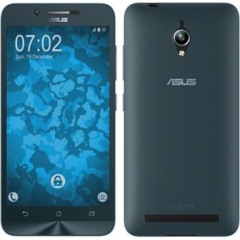 Silicone Case for Asus Zenfone Go (ZC500TG) 360° Fullbody light blue