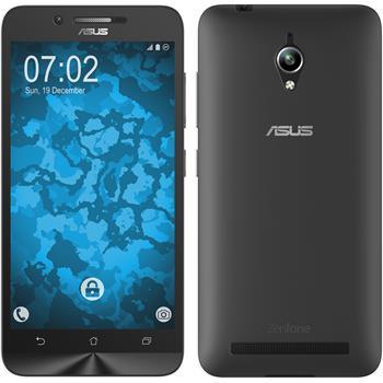 Silicone Case for Asus Zenfone Go (ZC500TG) 360° Fullbody transparent