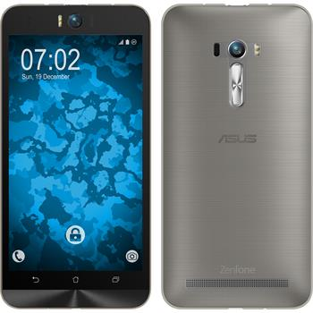 Silicone Case for Asus Zenfone Selfie Slim Fit gray