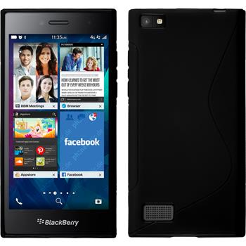 Silicone Case for BlackBerry Leap S-Style black