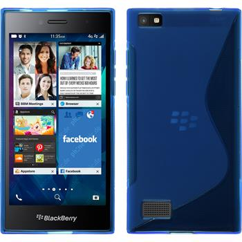 Silicone Case for BlackBerry Leap S-Style blue