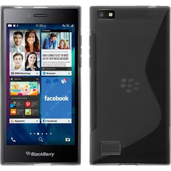 Silicone Case for BlackBerry Leap S-Style gray