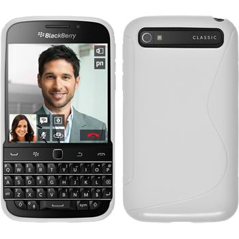 Silicone Case for BlackBerry Q20 S-Style white