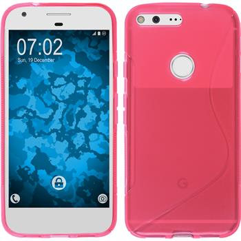 Silicone Case for Google Pixel XL S-Style hot pink