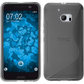 Silicone Case for HTC 10 S-Style gray
