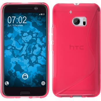 Silicone Case for HTC 10 S-Style hot pink