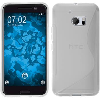 Silicone Case for HTC 10 S-Style transparent