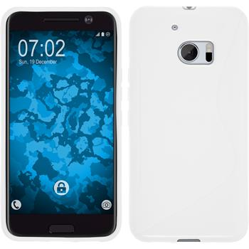 Silicone Case for HTC 10 S-Style white