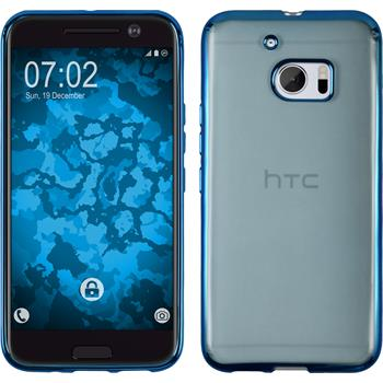 Silicone Case for HTC 10 Slim Fit blue