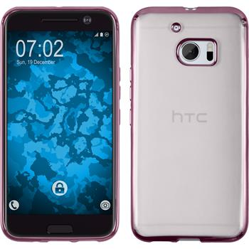 Silicone Case for HTC 10 Slim Fit hot pink