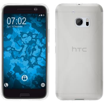 Silicone Case for HTC 10 X-Style transparent