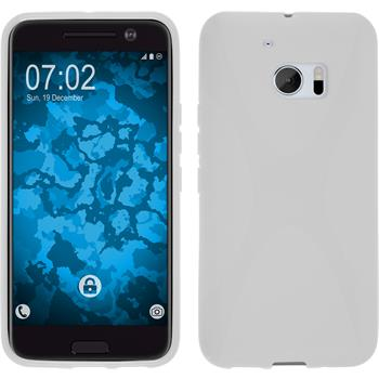 Silicone Case for HTC 10 X-Style white