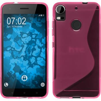 Silicone Case Desire 10 Pro S-Style hot pink