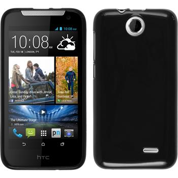 Silicone Case for HTC Desire 310 Candy black