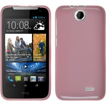 Silicone Case for HTC Desire 310 Candy pink