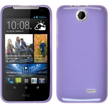 Silicone Case for HTC Desire 310 Candy purple