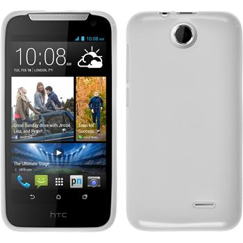 Silicone Case for HTC Desire 310 Candy white