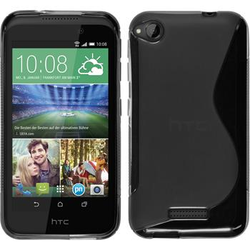 Silicone Case for HTC Desire 320 S-Style gray