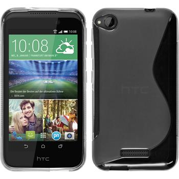 Silicone Case for HTC Desire 320 S-Style transparent