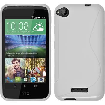 Silicone Case for HTC Desire 320 S-Style white