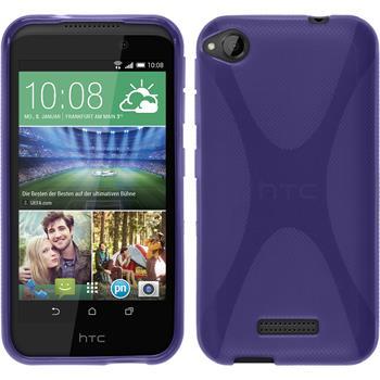 Silicone Case for HTC Desire 320 X-Style purple