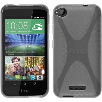 Silicone Case for HTC Desire 320 X-Style transparent