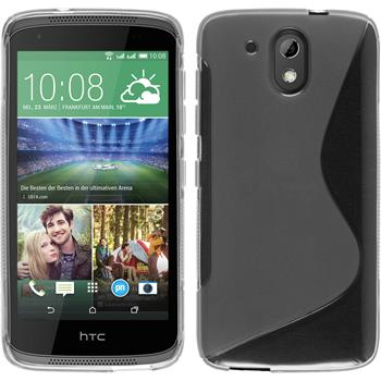 Silicone Case for HTC Desire 326G S-Style transparent