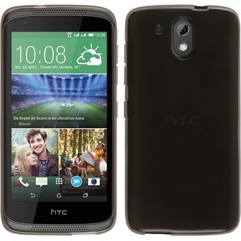 Silicone Case for HTC Desire 326G transparent black