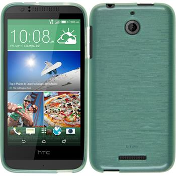 Silicone Case for HTC Desire 510 brushed green