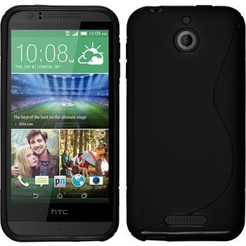 Silicone Case for HTC Desire 510 S-Style black