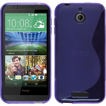 Silicone Case for HTC Desire 510 S-Style purple