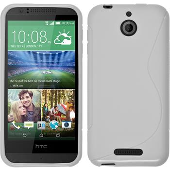 Silicone Case for HTC Desire 510 S-Style white