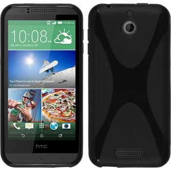 Silicone Case for HTC Desire 510 X-Style black