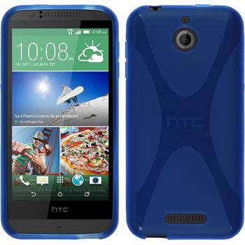 Silicone Case for HTC Desire 510 X-Style blue