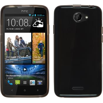 Silicone Case for HTC Desire 516 transparent black