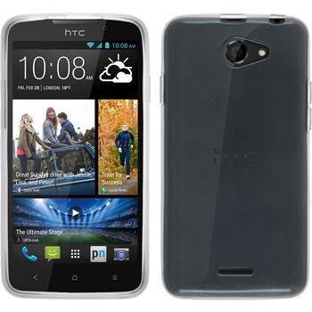 Silicone Case for HTC Desire 516 transparent white