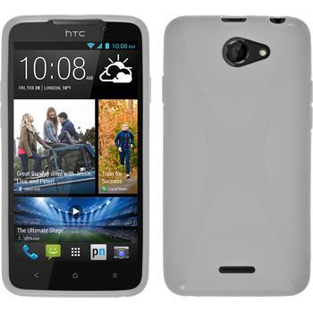Silicone Case for HTC Desire 516 X-Style white