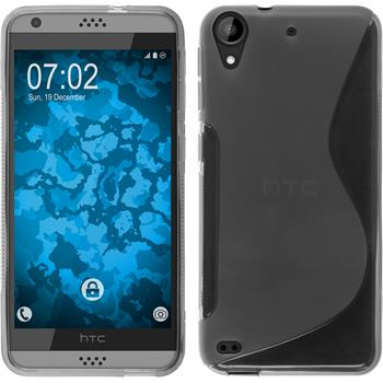 Silicone Case for HTC Desire 530 S-Style gray