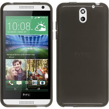 Silicone Case for HTC Desire 610 transparent black