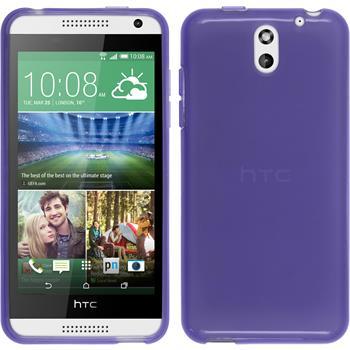 Silicone Case for HTC Desire 610 transparent purple