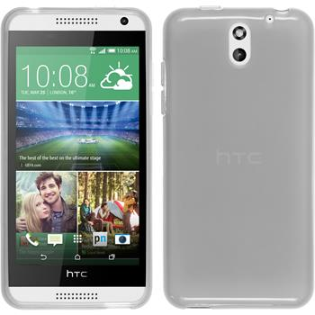 Silicone Case for HTC Desire 610 transparent white