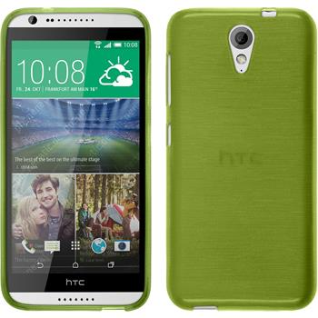 Silicone Case for HTC Desire 620 brushed pastel green