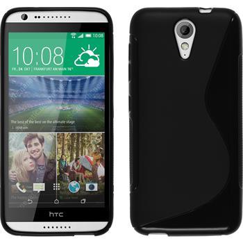 Silicone Case for HTC Desire 620 S-Style black