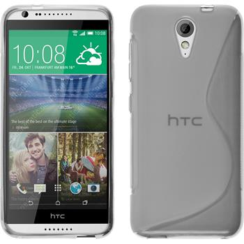 Silicone Case for HTC Desire 620 S-Style transparent