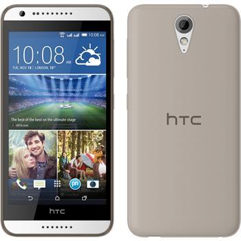 Silicone Case for HTC Desire 620 Slimcase gray