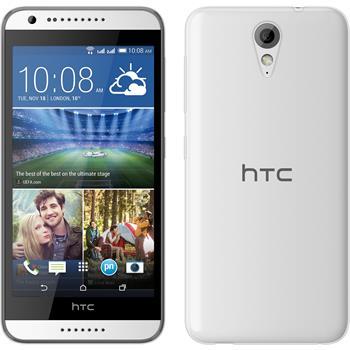 Silicone Case for HTC Desire 620 Slimcase transparent